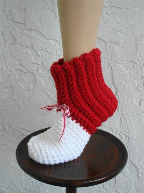 how to crochet slippers for adults crochet chunky slipper boots slipper rib boots