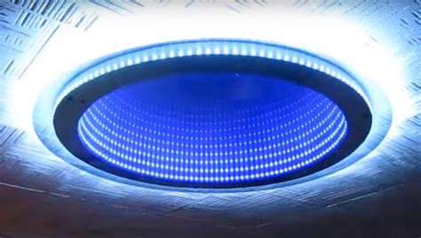 Infinity Mirror Ceiling by Led Illusions Artwork Solutions For Themed Hotels And