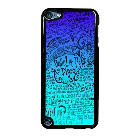 Casing Iphone 7 Panic At The Disco Lyric Cover Custom panic at the disco lyric quotes ipod touch 5 panic at the disco phone