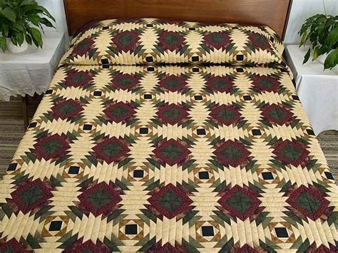 Pineapple Log Cabin Quilt Pattern pineapple log cabin quilt log cabin quilts