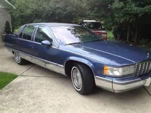 1994 Cadillac Fleetwood Sell Used 1994 Cadillac Fleetwood Brougham Sedan 4 Door 5