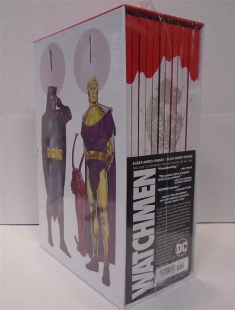 watchmen collectors edition box watchmen hardcover shop collectibles online daily