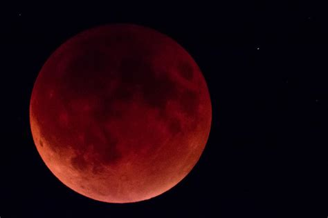 The Closest Blood Bond blood moon lights up seattle sky kuow news and