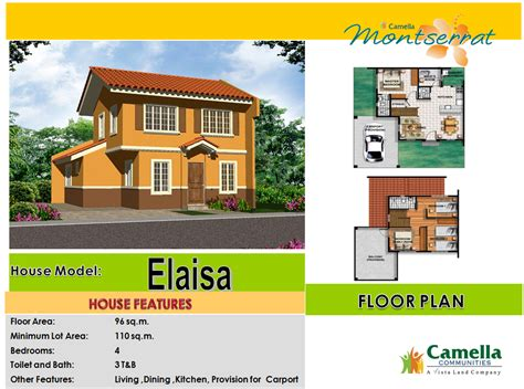 camella homes design with floor plan camella homes dumaguete palinpinon road barangay candau