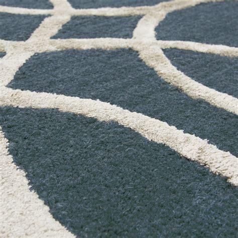 teal and silver rug circular trellis wool area rug in teal silver 8 x 10
