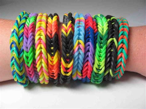 Diy Rainbow Loom Band Loomband Colorful Gelang Karet Kotak Box Hitam diy rainbow loom bands colorful gelang karet 319