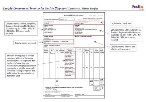 export commercial invoice template abc of garment export house what documents are required