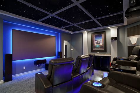 home theater design lighting pretty palliser in home theater contemporary with sci fi