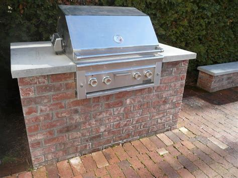 Backyard Brick Grill Backyard Brick Barbeques Brick Bbq Bricks And Concrete