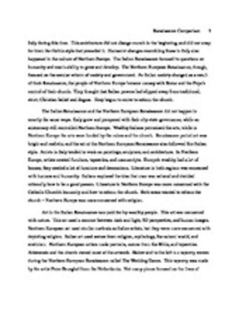 Renaissance Essay by Essay Renaissance