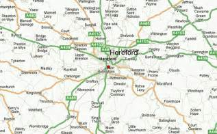 hereford map hereford location guide