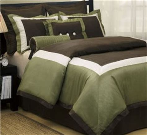 brown and green bedding chocolate brown and green bedding