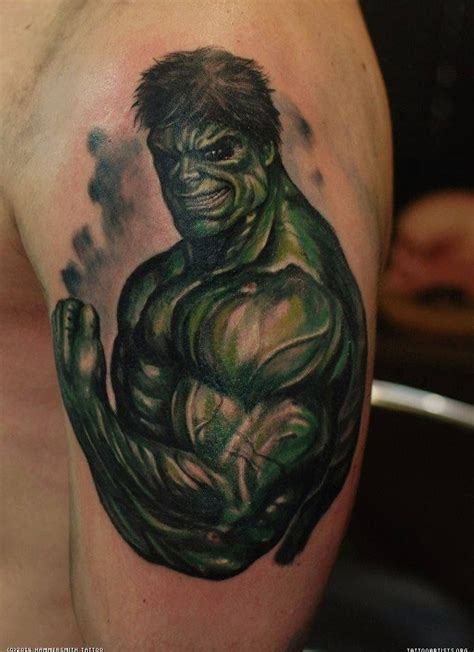 incredible hulk tattoo designs pics photos color n more