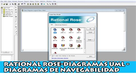 membuat uml dengan rational rose rational rose ejemplo de sistema diagramas de uml en