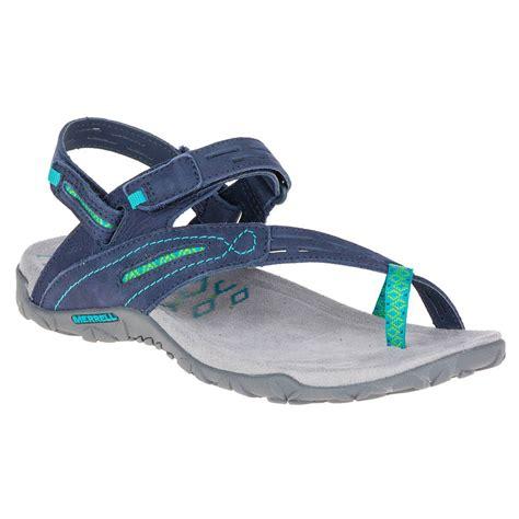 merrell terran convertible ii womens blue velcro walking