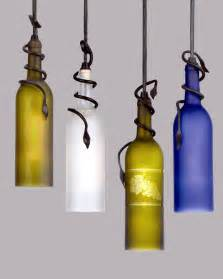 Diy wine bottle pendant light