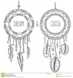 dream catchers native american traditional symbol stock