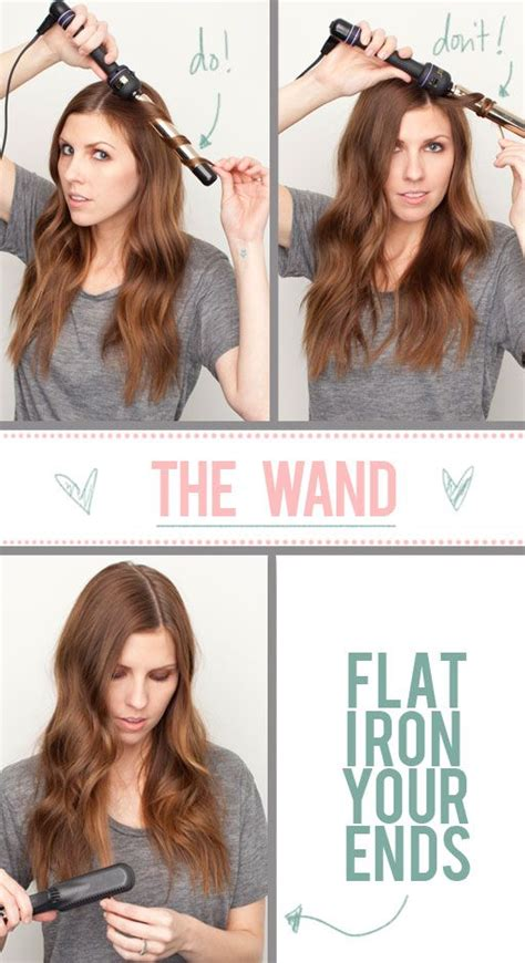 different ways to use the wand night class my hair the beauty department and curling