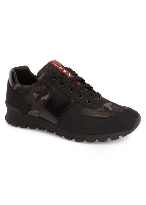prada mens sneakers prada prada camo sneaker shoes shop it to me