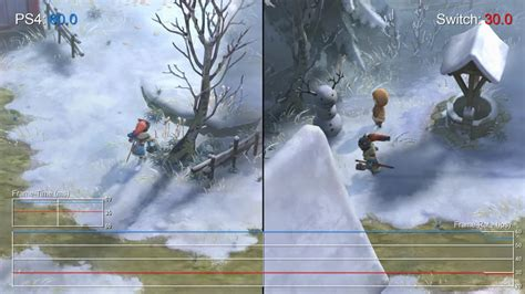 Switch I Am Setsuna i am setsuna switch vs ps4 comparison frame rate test