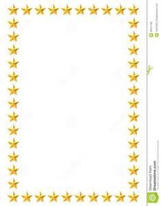 Gold stars border royalty free stock image image 30241766