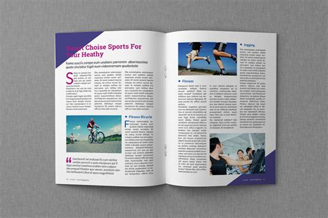 Magazine Template magazine indesign templates dealjumbo