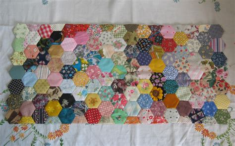 Patchwork Hexagon - hexagon hoo ha hullaballo ericka eckles