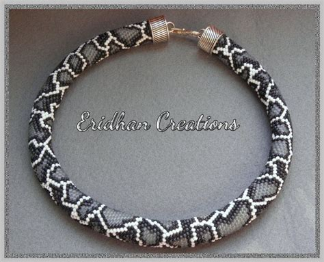 seed bead crochet patterns snake beaded crochet necklace discussion and several