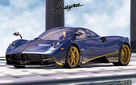 pagani huayra wallpaper blue pagani huayra wallpaper