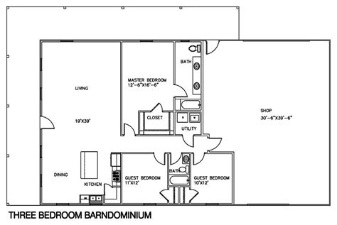 live in shed floor plans house plan pole barn house floor plans morton building