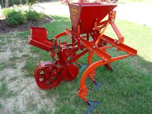 one row complete covington planter cultivator watts