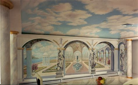 dining room wall murals bonnie siracusa murals fine art