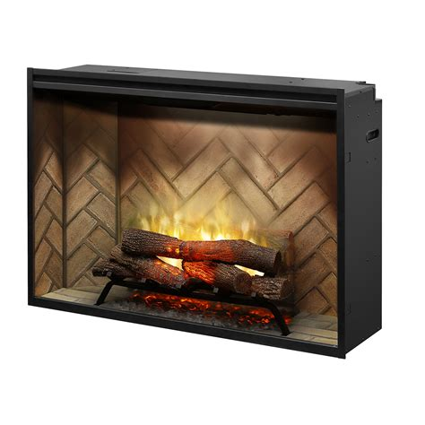 revillusion 42 quot built in firebox safe home fireplace