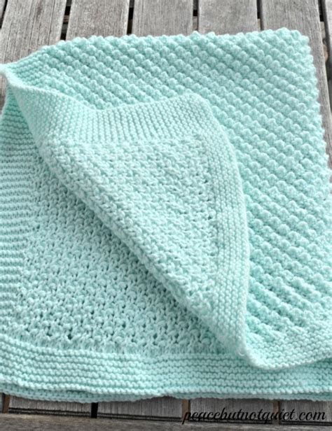 free knitted baby blanket patterns an adorable popcorn baby blanket pattern stitches