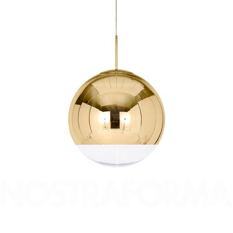 Tom Dixon Mirror Ball Gold Pendant L 187 Modern And Gold Light Fixtures