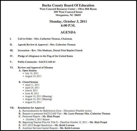 board meeting agenda template 16 agenda of meeting template the principled society