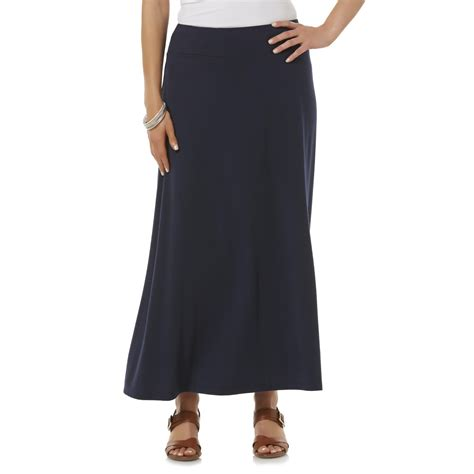 basic editions s knit maxi skirt