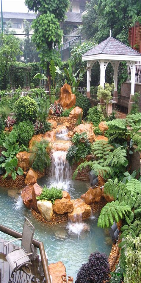 how to start a rock garden top 17 brick rock garden waterfall designs start an easy
