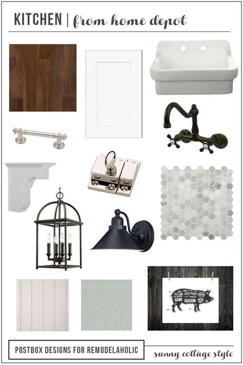 home depot kitchen casual cottage remodelaholic cottage style kitchen entirely from home