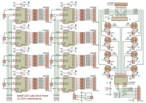 led cube wiring diagram images wiring diagram sle and