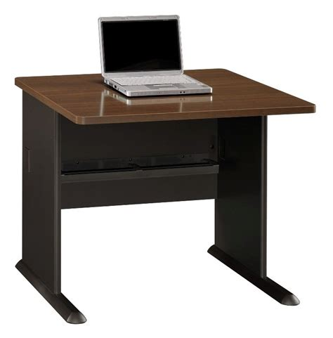 series a walnut 36 inch desk from bush wc25536