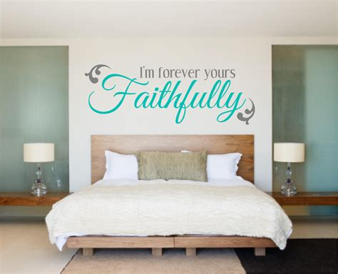 bedroom decal bedroom wall decal love decal im