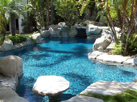 pools backyard outdoors tropicaldesigns swimming what is the best type of pool for small backyards custom