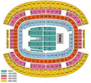 redskins seating chart pin fedex field seating map on