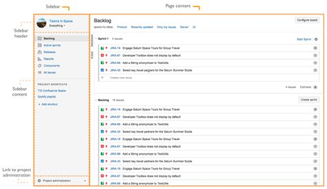 jira design guidelines designing for the jira project centric view