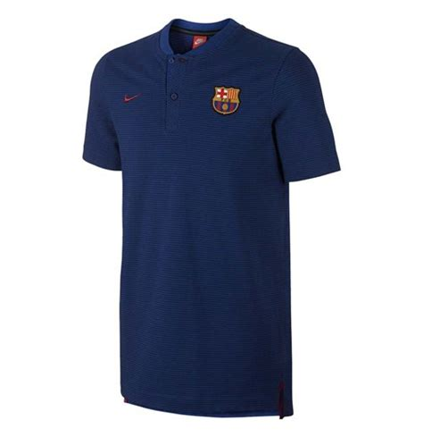 Polo Barcelona Barca 4 2017 2018 barcelona nike authentic polo shirt obsidian for only c 52 56 at merchandisingplaza ca