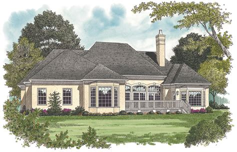 French Manor House Plans 2500 Sq Ft French Manor House Plan 180 1010 3 Bedrm Home