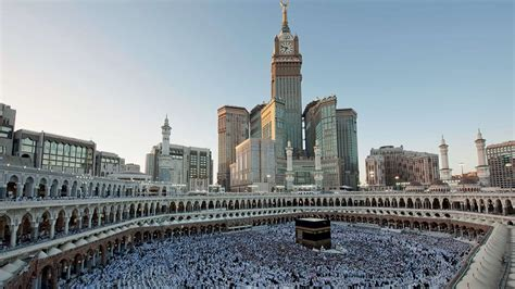 abraj al bait the abraj al bait tower in makkah saudi arabia gets ready