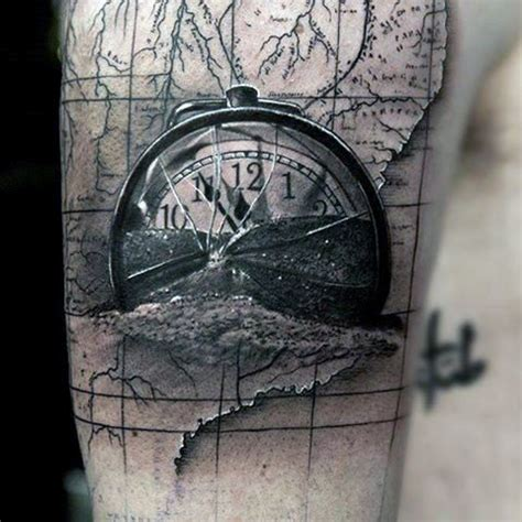 clock runing themes 92 best black and grey tattoo images on pinterest tattoo