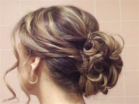 upstyle hairstyles easy casual updos for medium hair